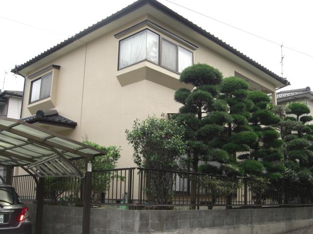 熊本市北区I様邸 外壁塗装・屋根塗装工事