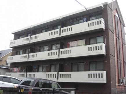 熊本県熊本市中央区T様マンション 付帯部塗装工事