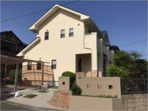 熊本市東区T様邸 外壁塗装・屋根塗装工事
