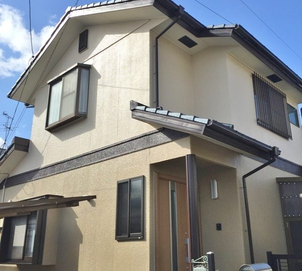 熊本市北区F様邸 外壁塗装・屋根塗装工事