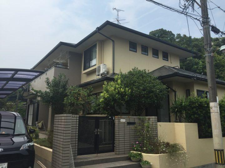 福岡県大牟田市I様邸 外壁塗装・屋根塗装工事