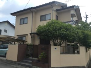 熊本市東区M様邸 外壁塗装工事