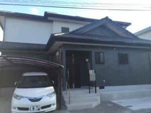 熊本市東区K様邸、外壁塗装・屋根塗装工事