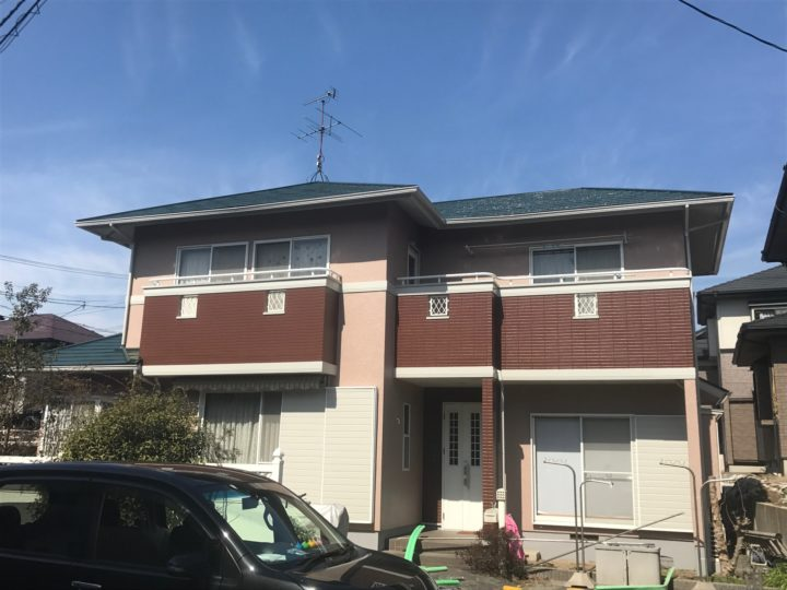 熊本市東区M様邸 外壁塗装・屋根塗装工事
