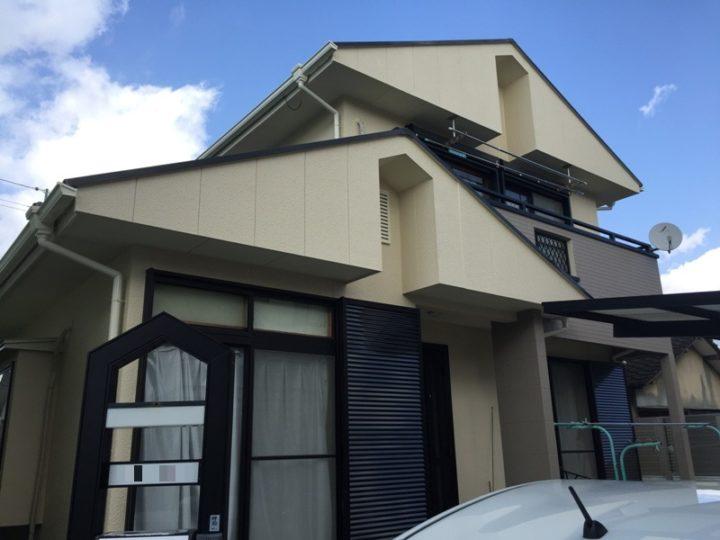 熊本市中央区S様邸 外壁塗装・屋根塗装工事