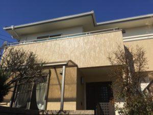 熊本市東区H様邸 外壁・付帯部塗装工事