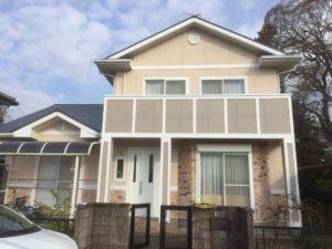 熊本県菊池市A様邸 外壁塗装・屋根塗装工事